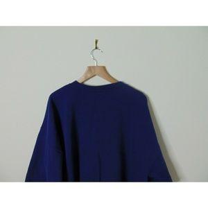 Nike Shirts - Vintage Nike Gray Tag Crewneck Sweatshirt XL Blue
